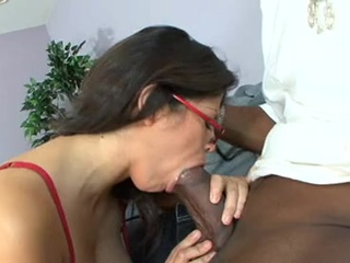 Dong Starved Honey Evie DEllatossa thumps a gigantic boner Deep in that ladr Mouth